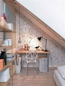 Appartement Sous Comble : d co po tique pour un appartement sous combles ~ Dallasstarsshop.com Idées de Décoration