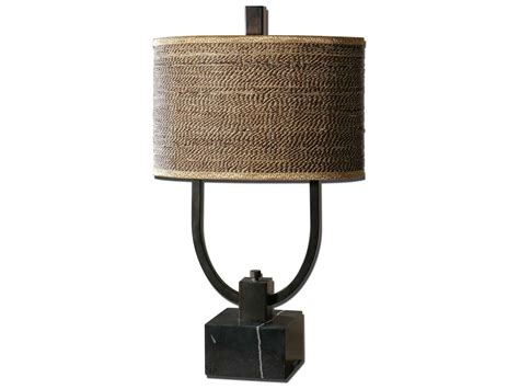 Uttermost Stabina Metal Two-light Table Lamp