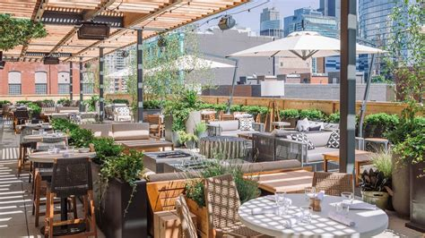 chicago patios  rooftops  summer eating