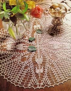 Lovely Compass Points Doily  Crochet Pattern Instructions