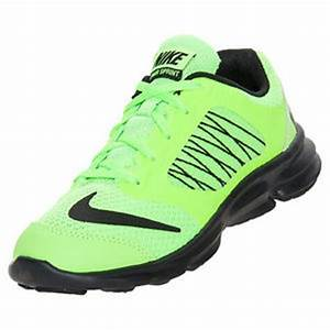 NIKE Lunarsprint PS Lime Green Black Running Shoes NIB Kid