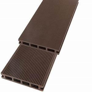 Lame De Terrasse Composite Castorama : lame de terrasse composite r chocolat x cm ~ Dailycaller-alerts.com Idées de Décoration