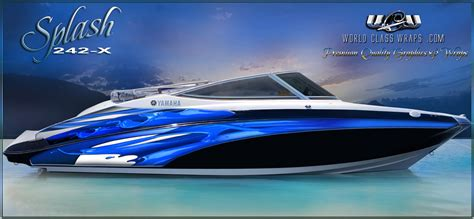 Yamaha Boat Decals by Yamaha Splash Boat Graphics
