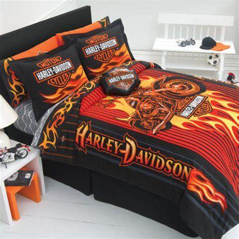 Harley Davidson Bedroom by Harley Davidson Bedroom Decor