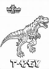 Invizimals Quiver Kleurplaat Animados Skelet Dinosaurier Kleurplatenl sketch template