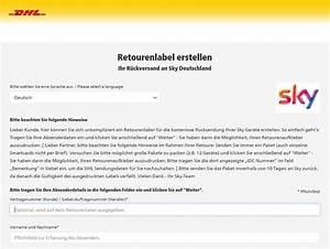 Sky Retourenschein Ausdrucken : sky retoure so geht 39 s retourenschein adresse zubeh r ~ A.2002-acura-tl-radio.info Haus und Dekorationen