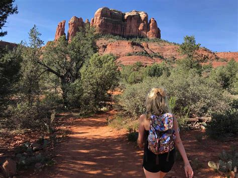 cathedral rock hike  sedona hiking trails  hike