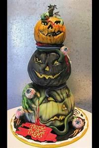 Gib Oder Geb : halloween kuchen verzieren geburtstagstorte ~ Orissabook.com Haus und Dekorationen