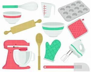 Baking clip art | Etsy