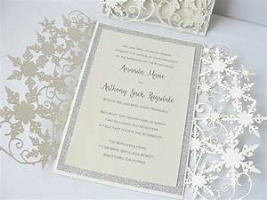 invitation inserts weddingtree laser cut wedding With vistaprint snowflake wedding invitations