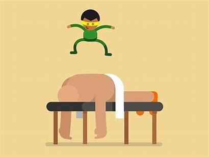 Massage Animated Gifs Something Reed Dribbble Kingdom