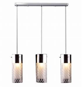 Suspension 3 Lampes : suspension design 3 verres emma kosilum ~ Melissatoandfro.com Idées de Décoration
