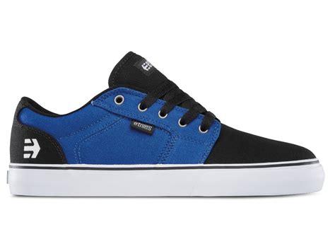 blue and white ls etnies quot barge ls quot shoes black blue white kunstform bmx