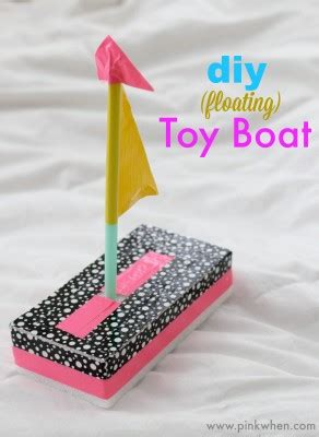 diy toy boat quick fun crafts page    pinkwhen
