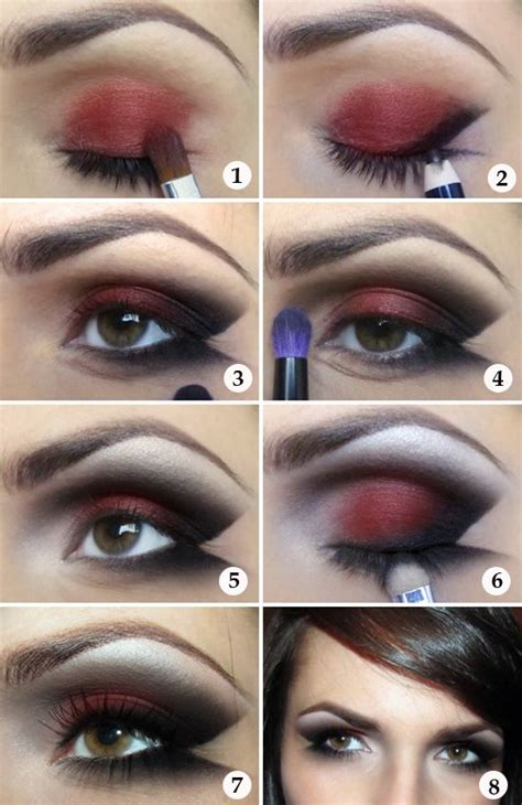 eye shadow tutorial  step  step images beauty