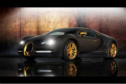 Bugatti Veyron Custom 3d Gold Wallpapers Cars