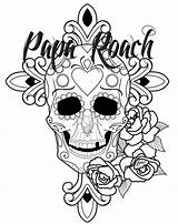 Papa Roach Drawings Coloring Printablecolouringpages Larger Credit sketch template
