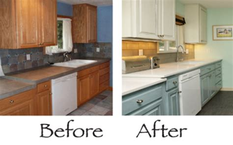 repainting kitchen cabinets before and after renov 225 cia kuchynskej linky sloan chalk paint 9218