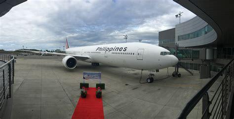 range of 777 300er new pal boeing 777 arrives in manila inquirer net