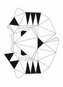 Trophée Animaux Origami : le troph e de chasse papier tigre masques pinterest mascaras tigres et masques ~ Teatrodelosmanantiales.com Idées de Décoration