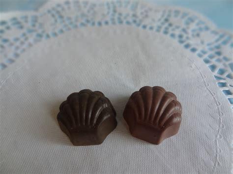 fake candy dark chocolate bon bons truffles