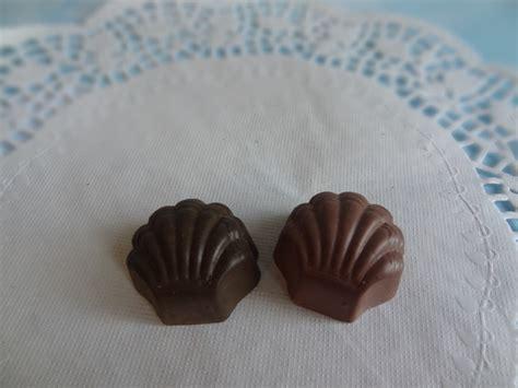 fake candy dark chocolate bon bons truffles