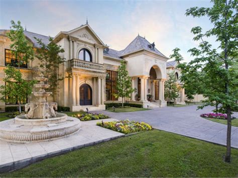 country mansion estate of the day 3 4 million french country mansion in dallas texas