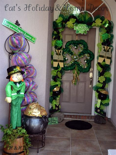 St Day Door Decorations - 17 best images about st day deco mesh wreaths on