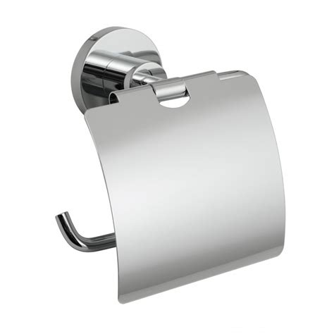 vado elements covered toilet roll holder wall mounted