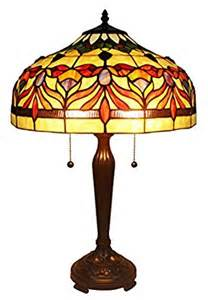 amora lighting tiffany style am067tl16 floral table l