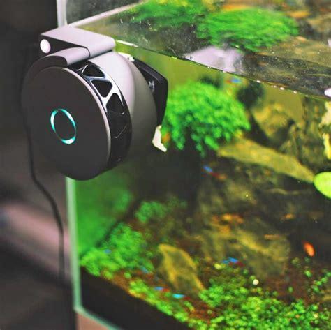 moai  robotic camera  cleaner   aquarium