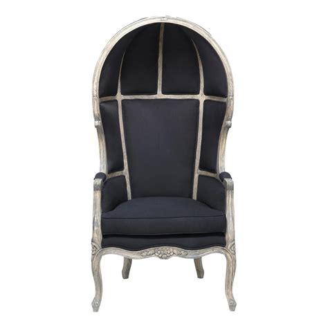 fauteuil carrosse noir carrosse maisons du monde