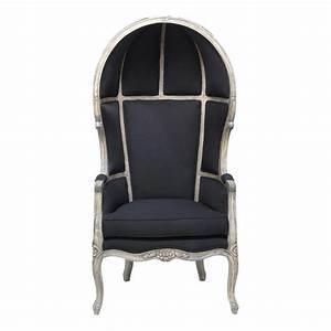 Fauteuil Maison Du Monde : fauteuil carrosse noir carrosse maisons du monde ~ Teatrodelosmanantiales.com Idées de Décoration