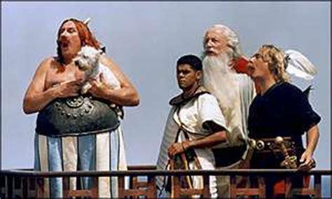 bbc news film asterix sequel scores  day hit