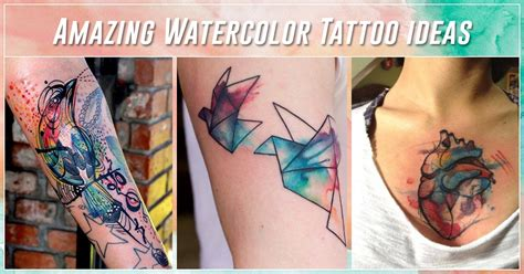 watercolor tattoos meanings ideas  designs