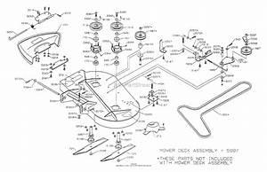 Dixon Ztr 4516k  1999  Parts Diagram For Mower Deck 36 U0026quot