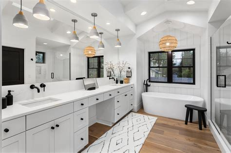 hottest  bathroom trends residential