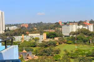 Beautiful East African City