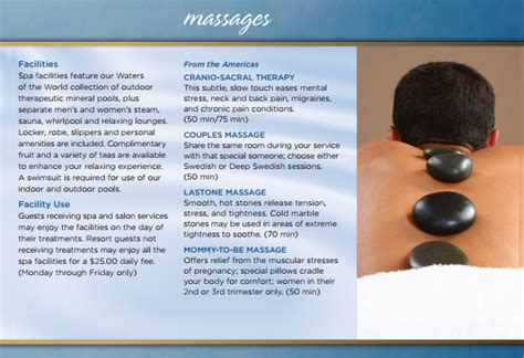 Free Spa Brochure Templates 15 Spa Brochures Sle Templates