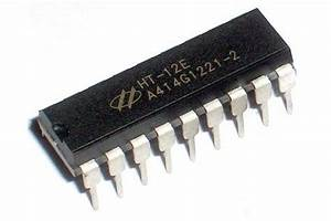 Ht12e Encoder Ic For Remote Control Systems