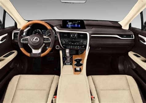 lexus rx red interior 2018 lexus rx 350 release date review price spy shots