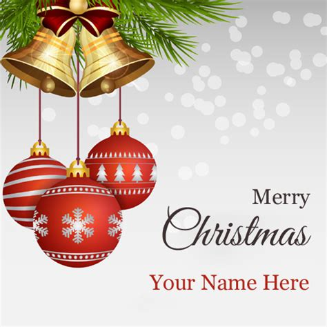 christmas bell s christmas wishes write name on greetings cakes posters whatsapp dps and anniversary cakes online bestnamepix com