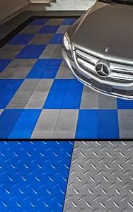 How to cut a garage floor tile garage flooring llc for Diamond cut floors