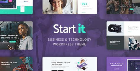 start it wp template download start it technology startup wp theme scriptmask