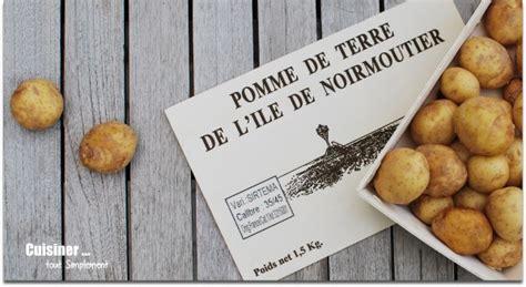 cuisiner les pommes de terre de noirmoutier concours de recettes primeur de noirmoutier quot saveurs