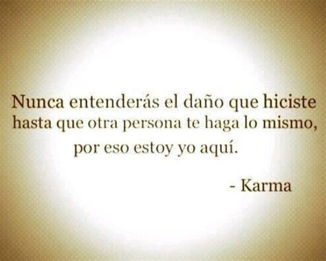 karma quotes in spanish