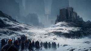 Andreas Rocha Artwork Barbarian Cage Castles Fantasy