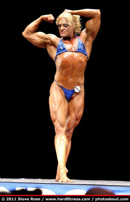 Tammy Jones - prejudging - 2011 NPC Nationals