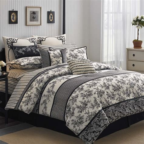 thick comforter sets comforter set thick with black flower pattern buyma