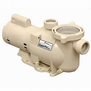 Pentair 340037 Superflo Inground Pool Pump  115  230v  3  4